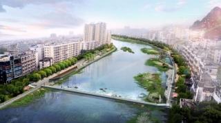 灵山县钦江大桥到接龙桥段一江两岸景观提升工程