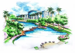东莞理工学院城市学院新校区景观规划设计