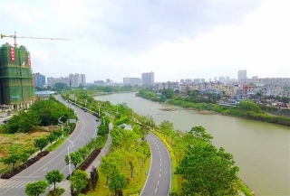 钦州一江两岸